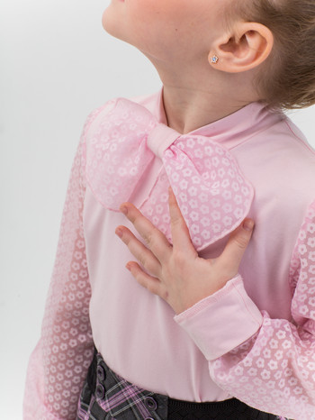 Блузы для школьной формы