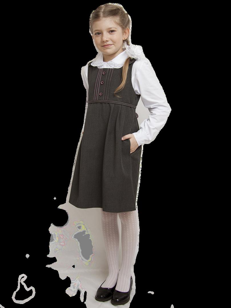 Блузы, сарафаны для девочек школьного возраста