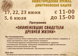 Дни занимательной палеонтологии в Нижнем Новгороде