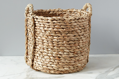 Large Rush Barrel Basket
