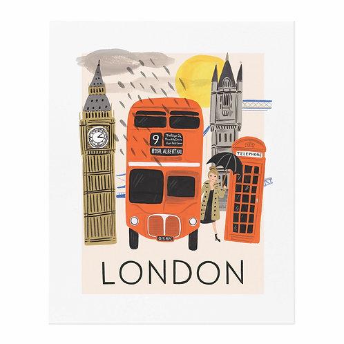 Travel London Art Print