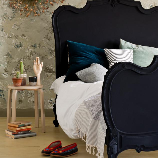 Athenian Black Bedroom