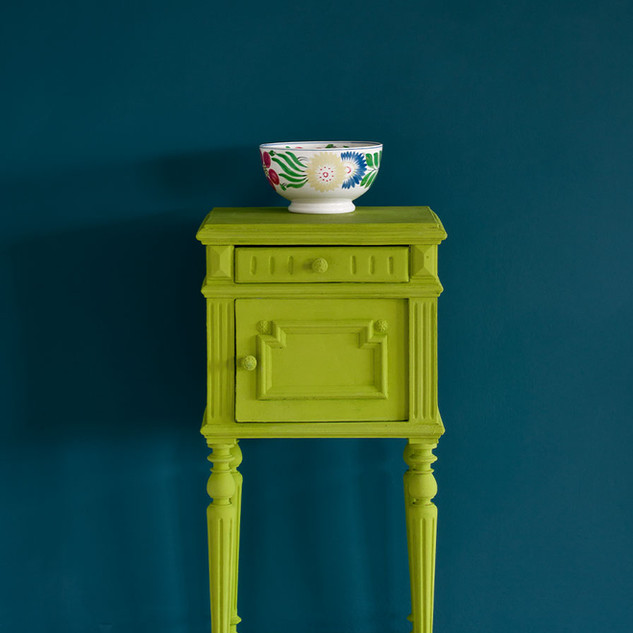 Firle-side-table-Wall-Paint-in-Aubusson-