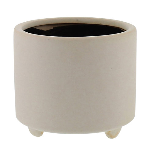 Simon Footed Planter - Ceramic (Small)