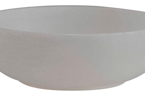 Carved Alabaster Bowl