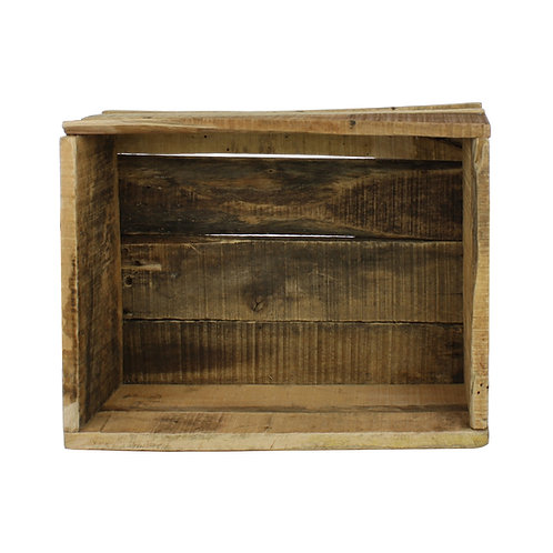 Market Salvaged Wood Crate