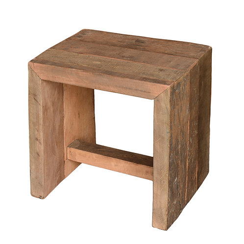 Arcadia Stool, Reclaimed Wood