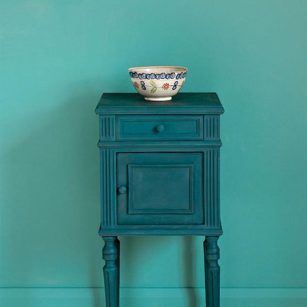 Aubusson-Blue-side-table-Linen-Union-in-