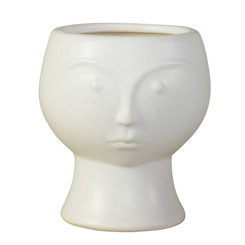 Rory Ceramic Vase with Face