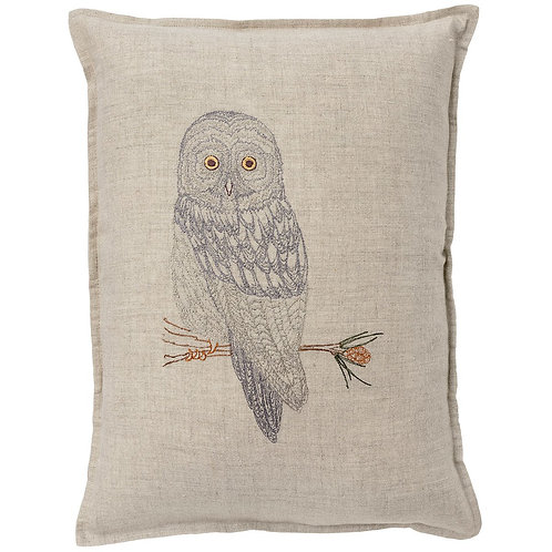 Coral & Tusk Great Grey Owl Pillow