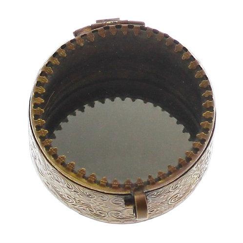 Josephine Mirrored Box - Brass (Small)
