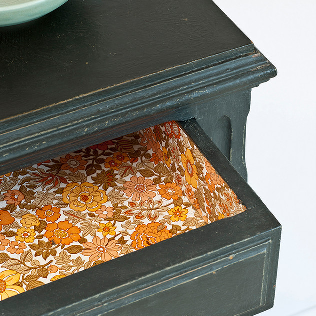 Graphite Side Table