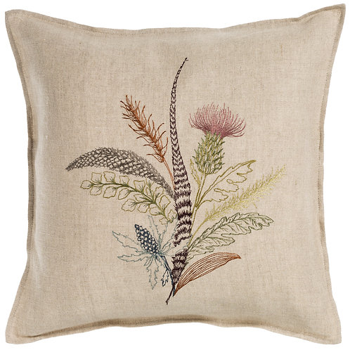 Coral & Tusk Thistle Pillow