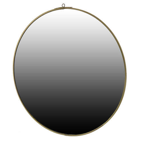 Monroe Round Mirror - Brass ( Large)