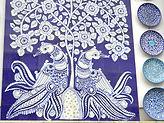 céramique bleue de Jaipur
