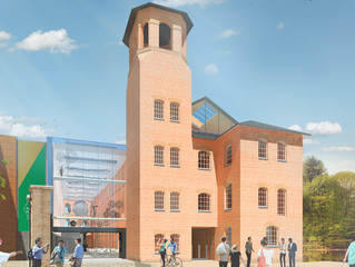 New IPI project with Derby Museums  - refurbish and rebuild The Silk Mill  - Museum of Making