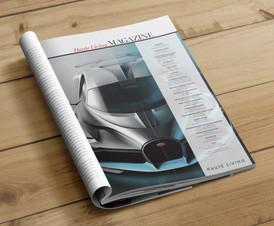 Haute Living Magazine Masthead