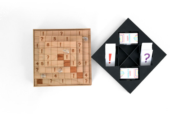 Lazer Cut Board Game and Playing Cards