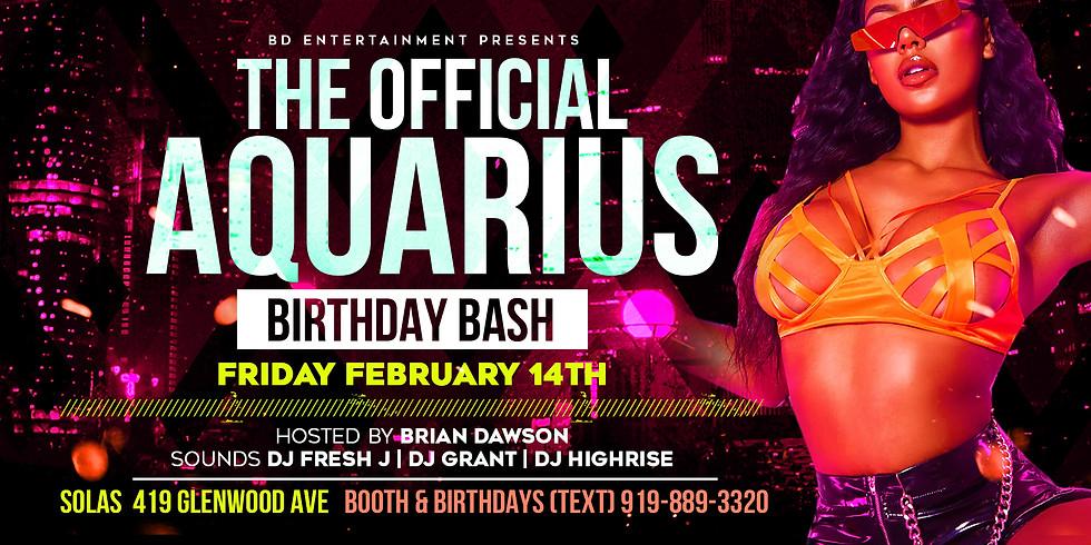 The Official Aquarius Bash!!