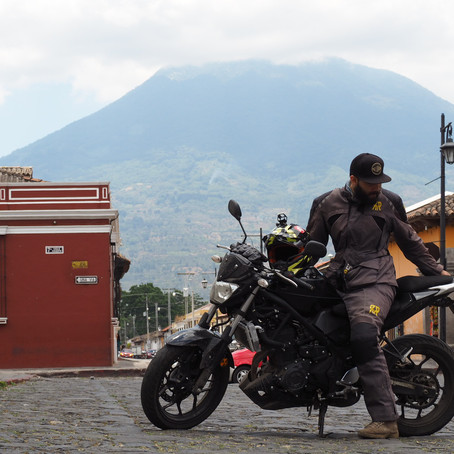 Around Latin America on a Motorcycle