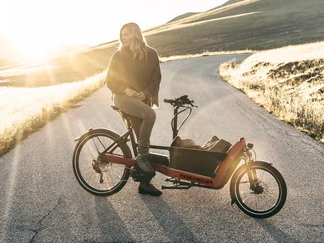 Packster 40, la più corta delle E-Cargo Bike