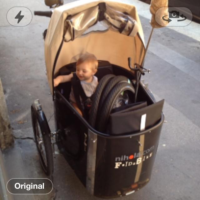 bambino bicicletta