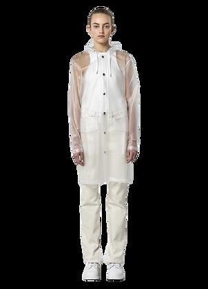 RAINS   Trasparent Hooded Coat