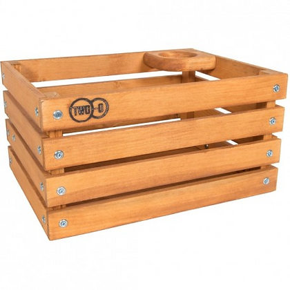 Cassetta in legno con portaborraccia