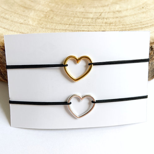 Armband Hart (Goud/Zilver)