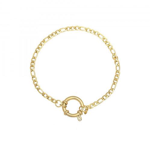 Armband Chain Faye (zilver/goud)