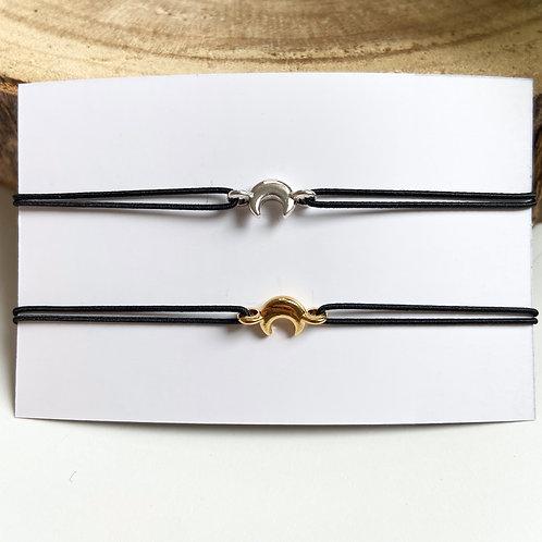 Armband Maan (Goud/Zilver)