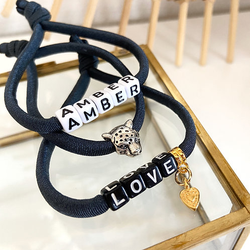 Armband Donkerblauw (DESIGN YOUR OWN)