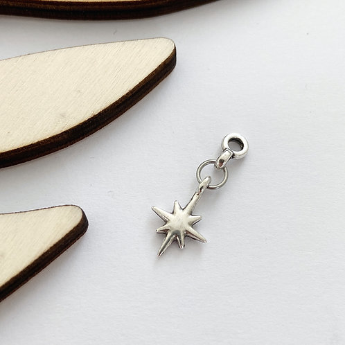 Hanger Galaxy Star Zilver