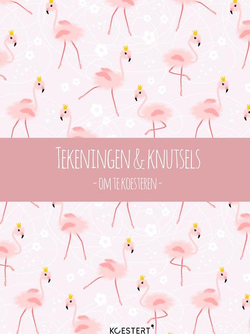 Bundel Knutselwerkjes Flamingo