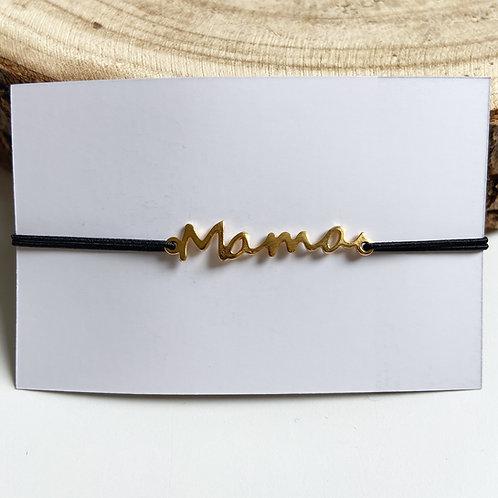 Armband Mama (goud/zilver)