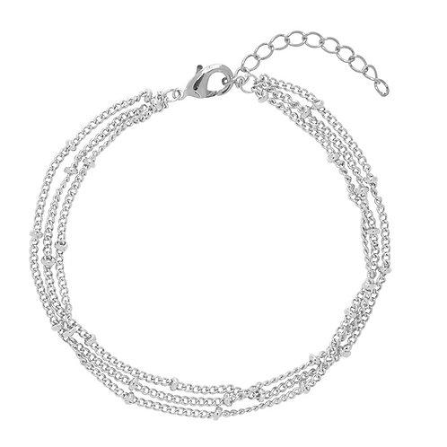 Armband Little Dots (zilver/goud)