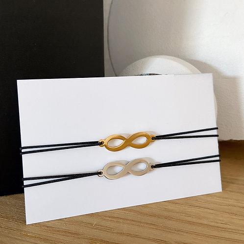 Armband Infinity (Goud/Zilver)