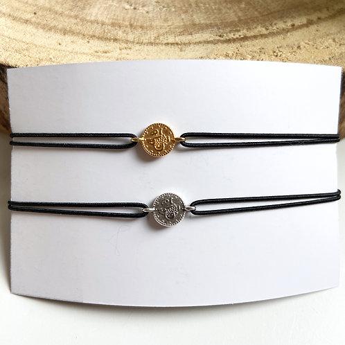 Armband Muntje (Goud/Zilver)