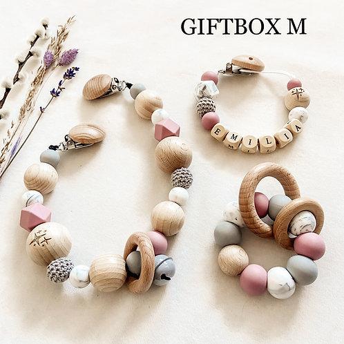 Giftbox M (kies zelf 3 kleuren)