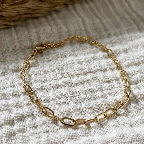 Armband Chained Up (zilver/goud)