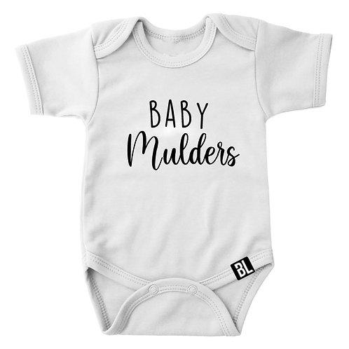 Romper Baby En Achternaam