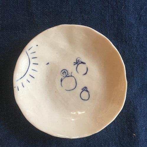 Pinched mini dish 3