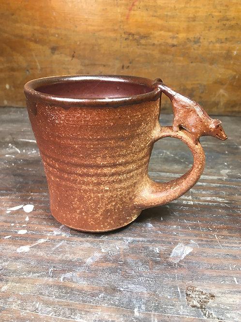 Opossum Wood fired Mug 2