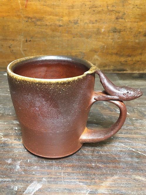 Whale Wood fired Mug
