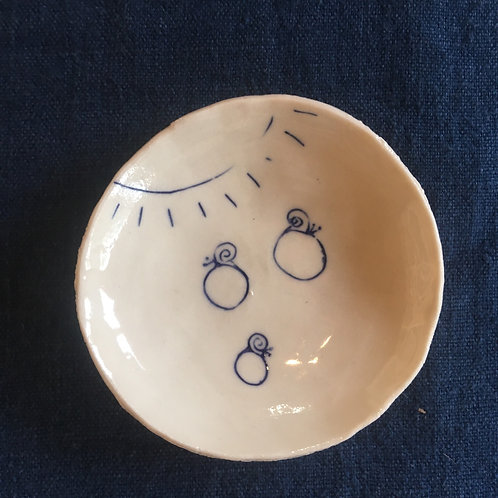 Pinched mini dish 6