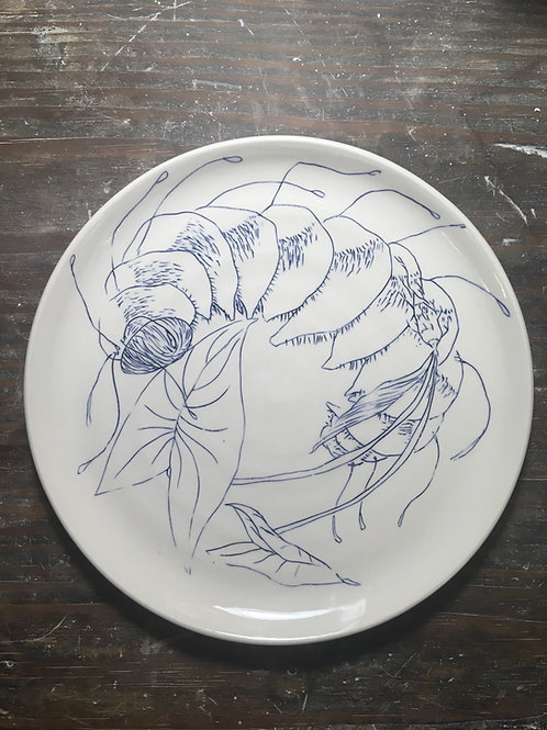 Caterpillar plate 2