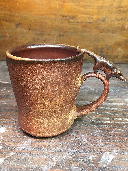 Opossum Wood fired Mug 3