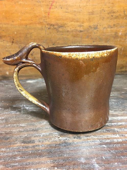 Whale Wood fired Mug 2
