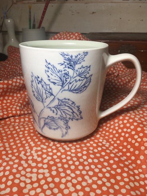 Healing plants mug 2