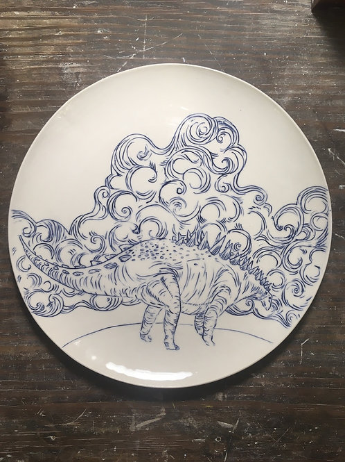 Middle dino plate
